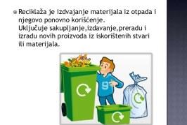 """Dan reciklaže u OŠ """"Andra Savčić"""""""