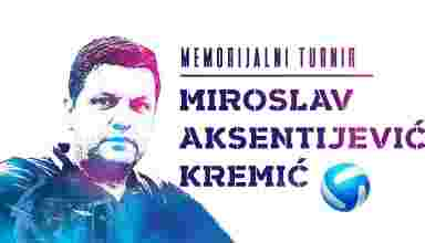 "Prvi memorijalni turnir ""Miroslav Aksentijević – Kremić"""